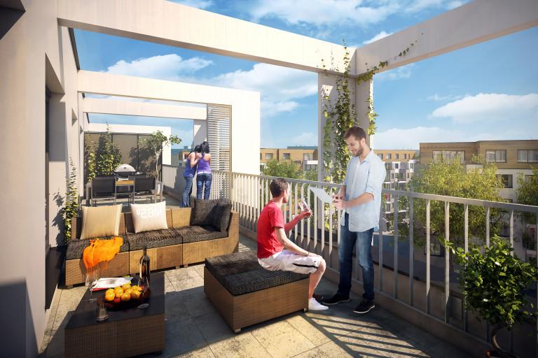 FINEP rozšiřuje nabídku oblíbeného družstevního bydlení o Prosek Park VI