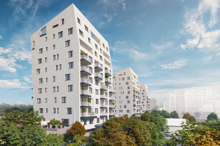 Harfa Park VII - družstevní byty v lokalitě Prahy 9 - Vysočany
